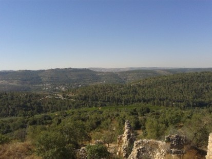 Jerusalem mountains