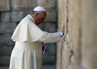 Pope at Kotel
