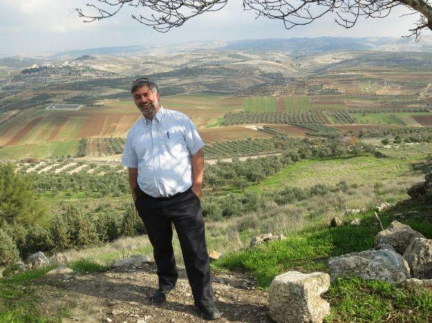 Rabbi Haber on a mountain